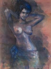 Nude – blue 4