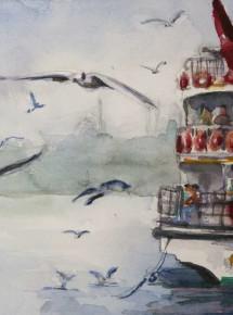 Istanbul city ferry