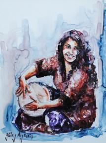 Taksim'deki Müzisyen